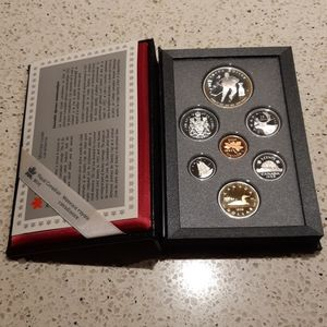 1993 Seven Canadian Coin Collection